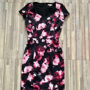 Eva Mendes floral dress size 4